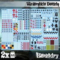 Immagine di Green Stuff World Waterslide Decals Heraldry