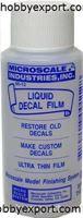 Immagine di Microscale Liquid Decal Film Restore old decals