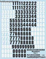 Immagine di 1/24  Decal Numbers