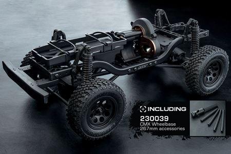 Immagine di MST CMX 4WD Crawler KIT mid motor wheel base 242/252/267mm