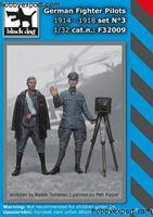 Immagine di Black Dog 1/32 KIT  GERMAN FIGHTER PILOT SET NO.3