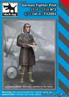Picture of Black Dog  	1/32 KIT  FIGHTER PILOT 1914 TO 1918 NO.1