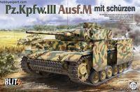 Immagine di TAKOM   1/35 KIT  PZ.KPFW.III AUSF.M MIT SCHURZEN