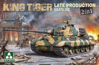 Immagine di TAKOM   1/35 KIT KING TIGER LATE PRODUCTION 2 IN 1
