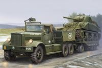 Immagine di I LOVE KIT M19 TANK TRANSPORTER WITH SOFT TOP CAB 1/35