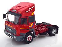 Picture of ROADKINGS IVECO TURBO STAR 1988 RED-ORANGE 1/18