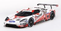 Picture of TSM MODEL TRUE SCALE MINIATURES FORD GT GTLM #66 24H DAYTONA 2019 FORD CHIP GANASSI TEAM USA TOP SPEED 1/18