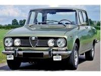 Picture of Mitica die cast model  1:18 ALFA ROMEO 1750 BERLINA 2-SERIES 1969 VERDE OLIVA MET - OLIVE GREEN