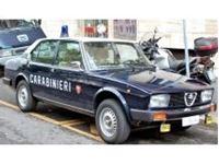 Picture of Mitica die cast model  1:18 ALFA ROMEO ALFETTA 2000 CARABINIERI 1978 POLICE BLUE WHITE