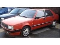 Picture of Mitica die cast model  1:18 FIAT CROMA 2.0 TURBO IE 1985 RED ROSSO CORSA 854
