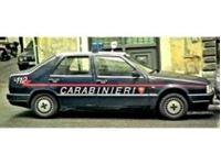 Picture of Mitica die cast model  1:18 FIAT CROMA 2.0 TURBO IE CARABINIERI 1988 POLICE - BLUE WHITE