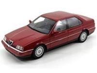 Immagine di Mitica die cast model RESINA  1:18 ALFA ROMEO 164 SUPER 3.0 V6 24v 1992 RED MET
