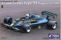 Immagine di EBBRO 1/20 KIT Lotus 91 Belgian Grand Prix 1982