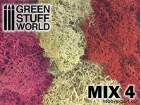 Immagine di GSW   Scenery Moss Red Fuchsia and Grey Mix 4