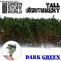 Picture of GSW Tall Shrubbery Dark Green