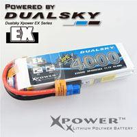 Immagine di Dualsky XP40002EX 4000 2S1P 30C