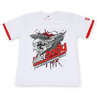 "Immagine di Killerbody Killerbody Shirt ""S"" White (190g 100% Cotton)"