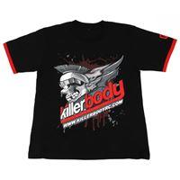 "Immagine di Killerbody Killerbody Shirt ""S"" Black (190g 100% Cotton)"