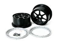 Picture of MCD Racing Wheel Black Xross MAX 7 Spoke 190MM (2 pcs.)