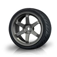 Immagine di MST-Racing Silver grey TE wheel w/ AD realistic tire (4)