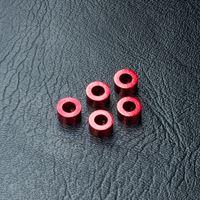 Immagine di MST-Racing Alum. spacer 3X5.5X3.0 (red) (5)