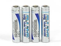 Picture of Robitronic NiMH 1000mAh battery AAA Micro (4 pcs)