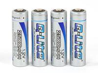Picture of Robitronic NiMH 2500mAh battery AA Mignon (4 pcs)