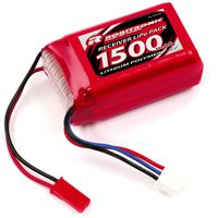 Picture of Robitronic LiPo Battery 1500mAh 2S AAA Hump Size for RX