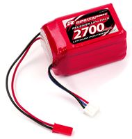 Picture of Robitronic LiPo Battery 2700mAh 2S 2/3A Hump Size for RX