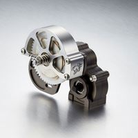 Immagine di TFL Racing Gearbox Complete, 56T POM/13T Metal 32DP for Axial SCX10