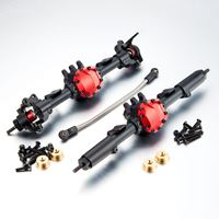 Immagine di TFL Racing SCX10 II Front/Rear  Axle Completed Assembly