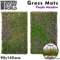 Picture of GSW Grass Mat Cutouts Purple Meadow