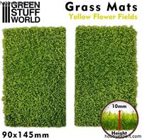 Picture of GSW Grass Mat Cutouts Yellow Flower Field