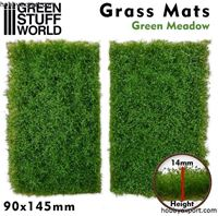 Picture of GSW Grass Mat Cutouts Green Meadow