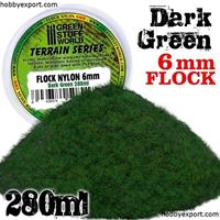 Picture of GSW Flock Nylon XL 6mm Dark Green 180ml