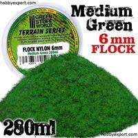 Picture of GSW Flock Nylon 6mm Medium Green 280ml