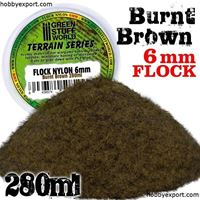 Picture of GSW Flock Nylon 6mm Burnt Brown 280ml