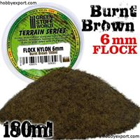 Picture of GSW  Flock Nylon 6mm Burnt Brown 180ml