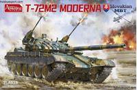 Immagine di AMUSING HOBBY   1/35 KIT  T72M2 MODERNA SLOVAK MBT AVAILABLE IN JULY