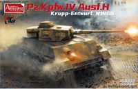 Picture of AMUSING HOBBY    1/35 KIT PANZER IV AUSF.H KRUPP ENTWURF W1466
