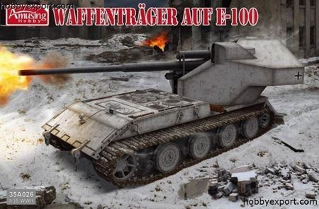 Picture of AMUSING HOBBY    1/35 KIT WAFFENTRAGER AUF E100