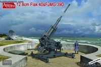 Immagine di AMUSING HOBBY  1/35 KIT   12.8CM FLAK 40 AND FUMG 39D