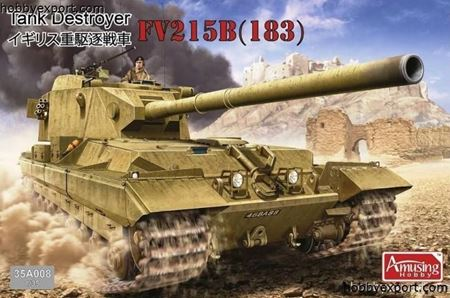 Picture of AMUSING HOBBY  1/35 KIT   BRITISH TANK DESTROYER FV215B CONQUEROR