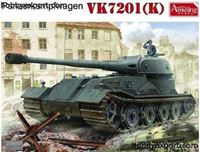 Immagine di AMUSING HOBBY   1/35 KIT   GERMAN PANZERKAPFWAGEN VK7201 (K)