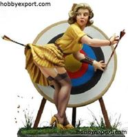 Picture of Andrea miniatures 80mm KIT   PIN UP SERIES THE MISSING ARROW