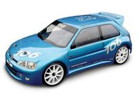 Picture of HPI Body #7241 - HPI RACING PEUGEOT 106 MAXI BODY (190MM/WB 237MM/CLEAR )