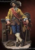Picture of Andrea miniatures 54mm KIT  PIRATES OF THE CARIBBEAN CAPTAIN WILLIAM KIDD, 1689
