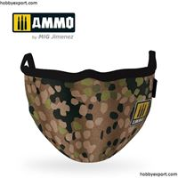 Picture of AMMO    Erbsenmuster AMMO Face Mask