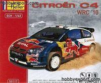 Immagine di Heller  1/43 KIT  CITROEN C4 WRC PAINT AND GLUE LOEB