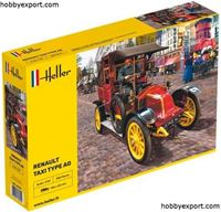 Immagine di HELLER 1/24 KIT  RENAULT TAXI TYPE AG